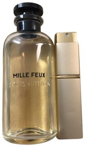 Louis Vuitton Brand New ' Mille Feux' In Refillable Glass Travel Spray Atomizer 20ml