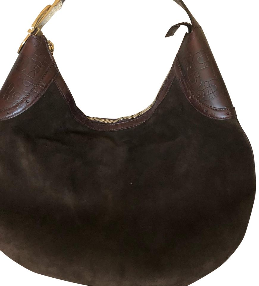 07d10b8e088 Gucci Horsebit Vintage Brown Suede Leather Hobo Bag - Tradesy