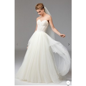 Watters Corset and Tulle Set Modern Wedding Dress Size 6 (S)