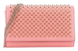 Christian Louboutin Leather pink Clutch