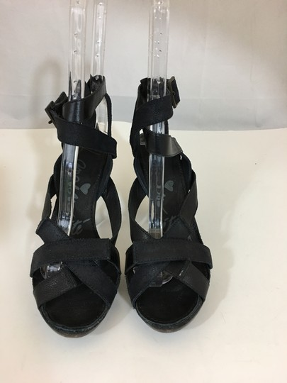 Lanvin Strappy Brown/Black Sandals Image 2
