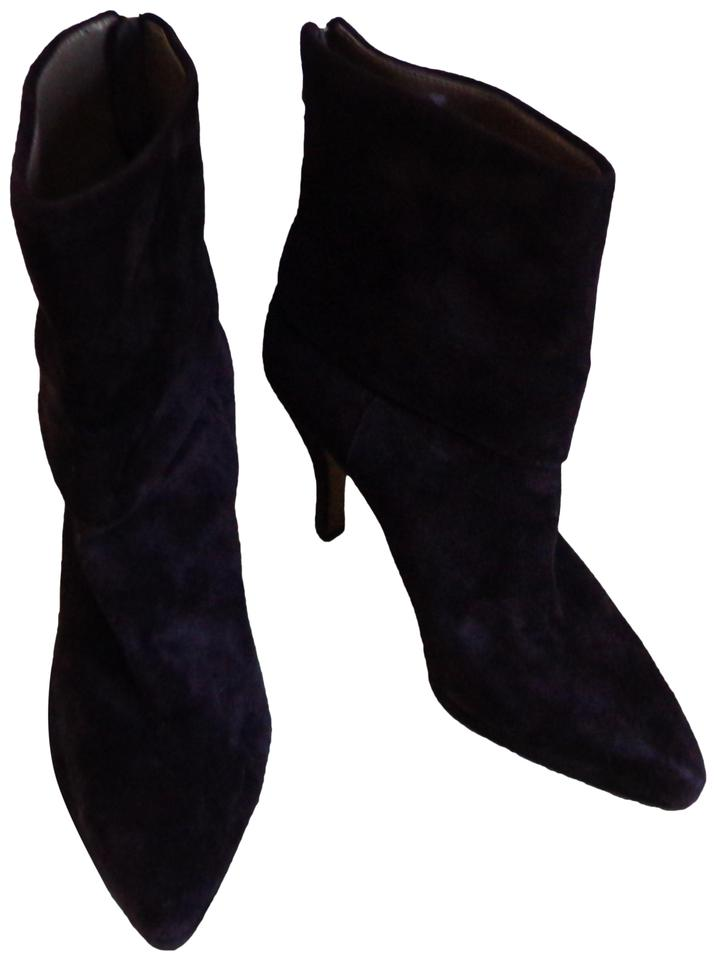 c26250bea93 Adrienne Vittadini Brown Suede Back Zip Heeled Fashion Ankle Boots/Booties  Size US 8.5 Regular (M, B)