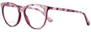 Gucci Oval Pink Eyeglasses