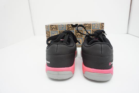 Five Ten Flats Sneakers Lace Up Freerider Size 6 Black / Pink Athletic Image 6