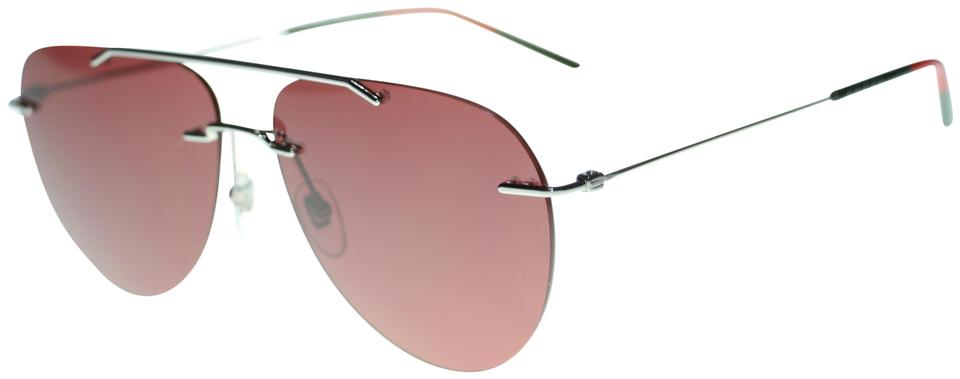 756d9f67af Gucci Gucci Aviator GG0397S 004 Red Metal Rimless Authentic Sunglasses  Image 0 ...