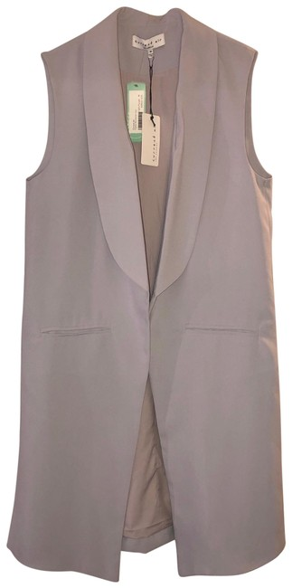 Current Air Lavender Sophia Workwear Vest Tunic Size 8 (M) Current Air Lavender Sophia Workwear Vest Tunic Size 8 (M) Image 1