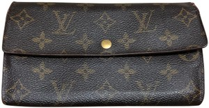 Louis Vuitton Louis Vuttion Porte Monnaine long Wallet