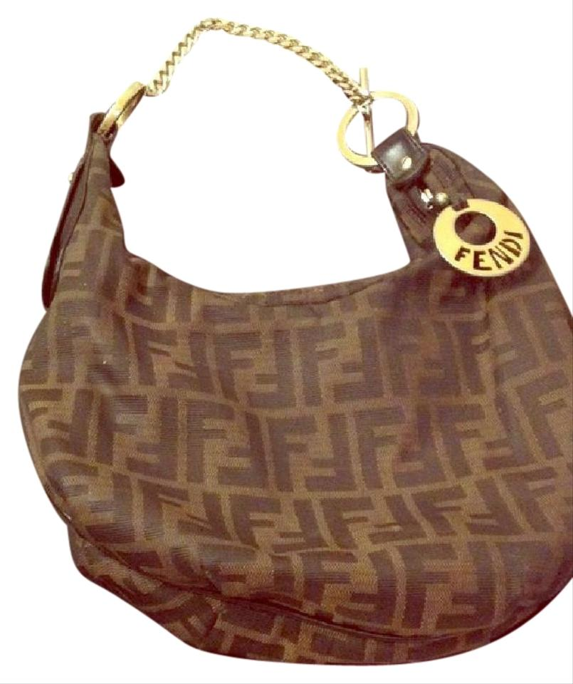 a5c420776563 Fendi Black with Monogram Hobo Bag - Tradesy