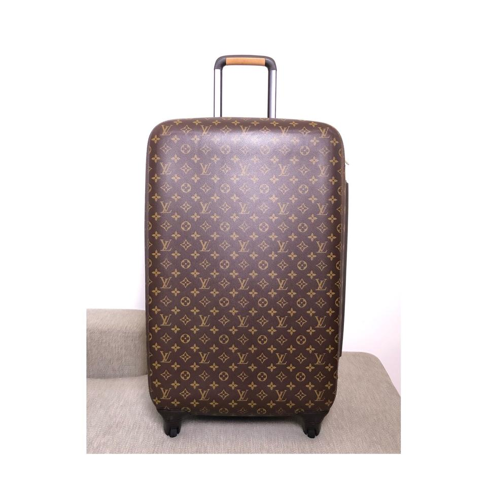 e3aff087bb5a Louis Vuitton Zephyr Mono 70 Rolling Luggage Weekend Travel Bag ...
