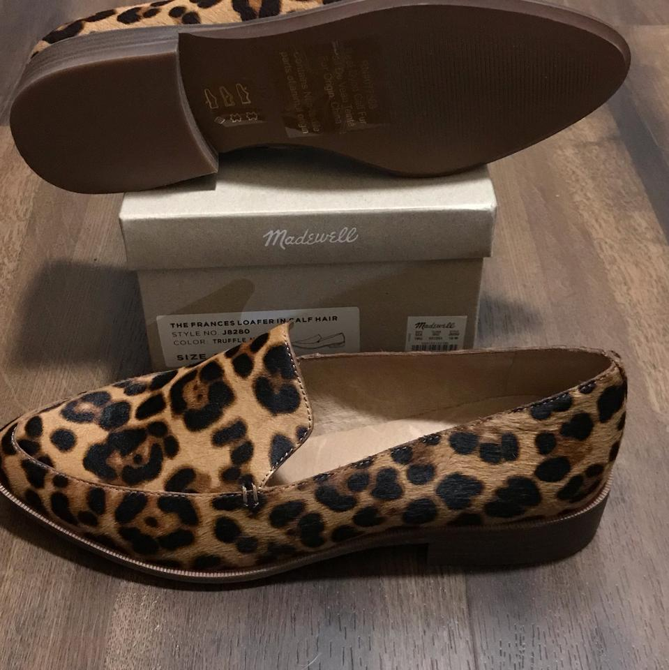 dad2afcd0a1 Madewell Leopard Calf Hair. Francis Loafer In Flats Size US 10 ...