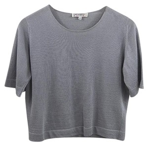 Saint Laurent Vintage Fall Winter Luxury Night Out T Shirt Grey