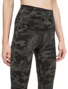 8f17704058 Lululemon Align Incognito Camo Gator Green Activewear Bottoms Size 4 ...