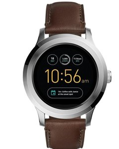 Fossil Fossil Q Gen 2 Q Founder Dark Brown Leather Smart Watch FTW2119