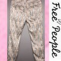Free People Gold Gray Cream Pattern Skinny Jeans Size 8 (M, 29, 30) Free People Gold Gray Cream Pattern Skinny Jeans Size 8 (M, 29, 30) Image 5