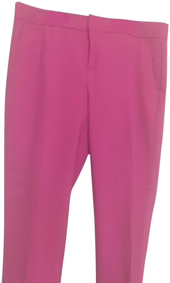 0cf13eaa2f5e Banana Republic Bubblegum Pink Avery Straight-fit Ankle Pants Size 2 ...