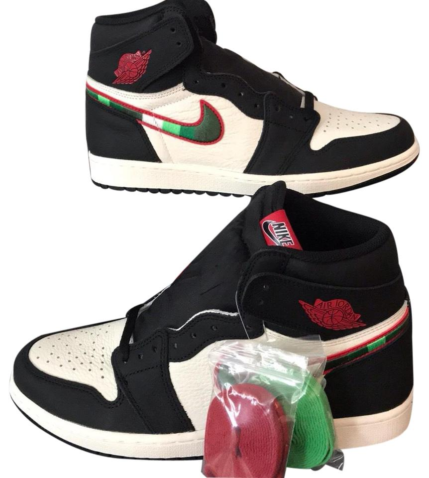 1eb16da82580 Nike Black Varsity Red-sail-university Blue Air Jordan 1 Retro High Og  Sneakers