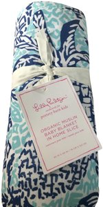 Lilly Pulitzer Lilly Pulitzer Organic Muslin Baby Blanket
