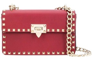Valentino Rockstud Chain Strap Shoulder Bag