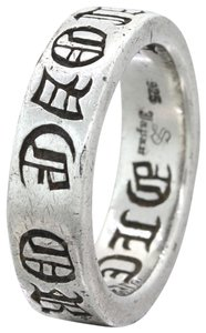 Chrome Hearts Chrome Hearts Love Or Die Sterling Silver 6mm Wedding Ring