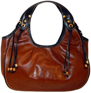 TOUS Leather Black Hobo Bag