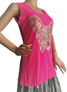India Boutique Top Neon Pink