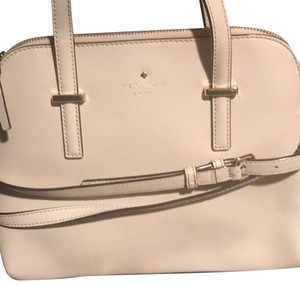 Kate Spade Satchel in White Linen(official color)
