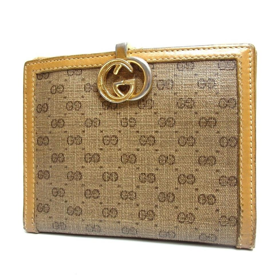f23055823a66 Gucci Auth Gucci GG Vintage Bifold Wallet 130GW52 Image 0 ...