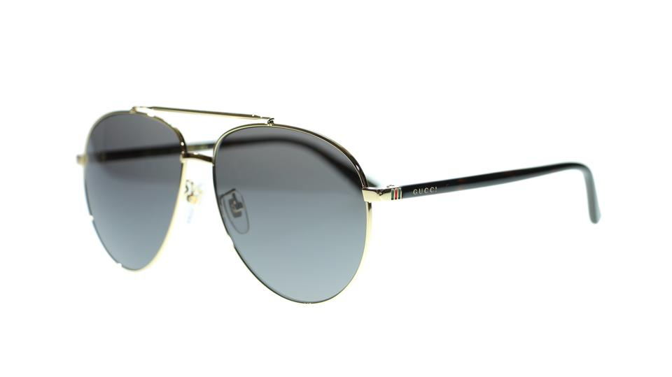 791fe58d41ef1 Gucci 002 Men s Gg0043sa Gold Havana Grey Lens 61mm Sunglasses - Tradesy
