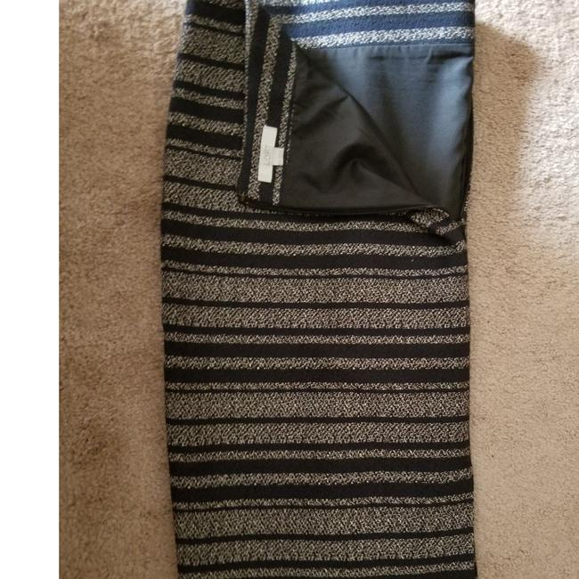 Item - Navy Blue and White Striped Pencil Skirt Size 18 (XL, Plus 0x)