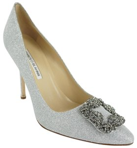 8318eca0852e Women s Silver Manolo Blahnik Shoes - Up to 90% off at Tradesy
