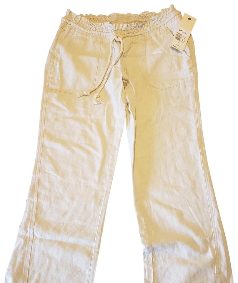 476f9343be Roxy Off White Oceanside Pants Size 4 (S, 27) - Tradesy
