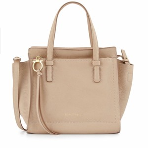 a5be4e4a03c0 Beige Salvatore Ferragamo Satchels - Up to 90% off at Tradesy