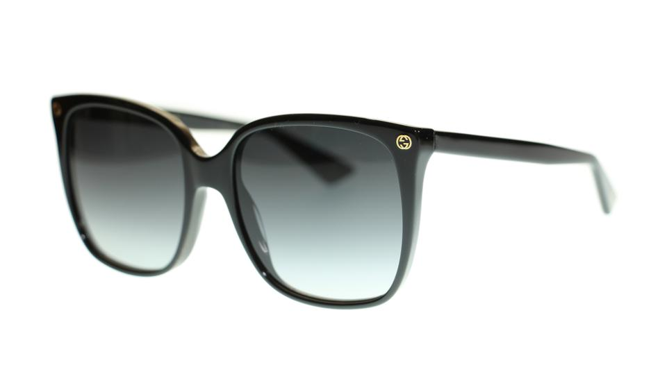 27e41be1c75 Gucci 001 Women Square Gg0022s Black Sunglasses - Tradesy