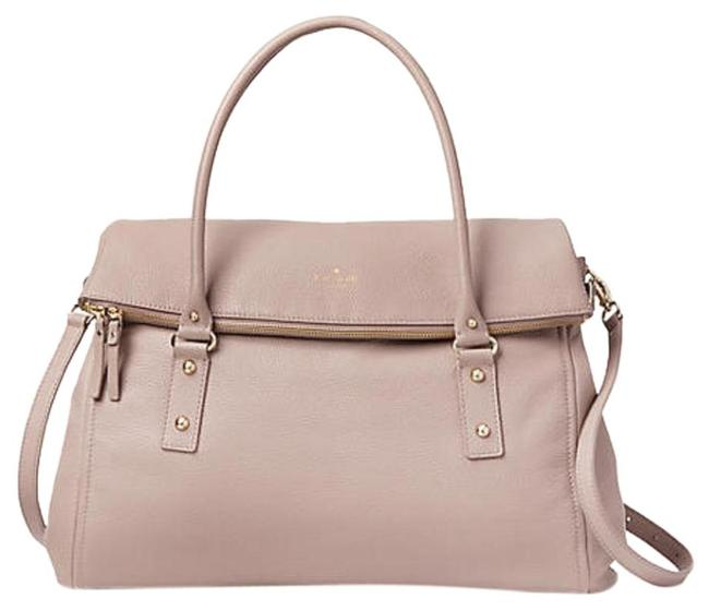 """Item - New York Boerum Place Leslie Dusty Rose - """"Dark Mousse Frosting"""" Leather Weekend/Travel Bag"""