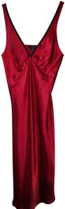 Red Maxi Dress by Jones New York Valentine's Day Silky Polyester
