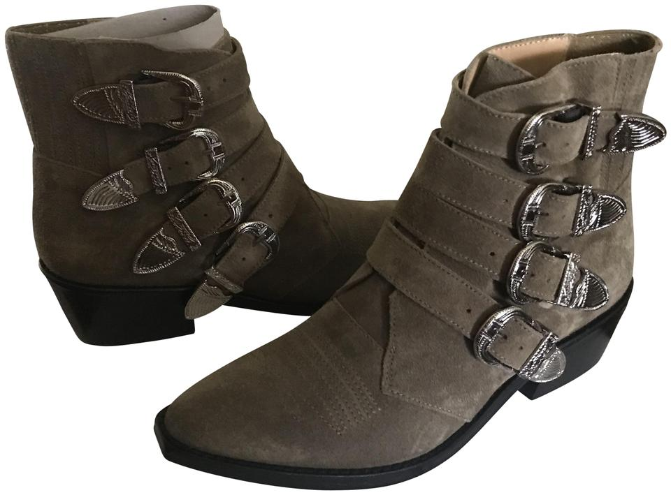 d03c87642c2 Taupe Western Boots/Booties