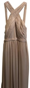 Watters Chiffon Gown Halter Comfortable Full Length Dress