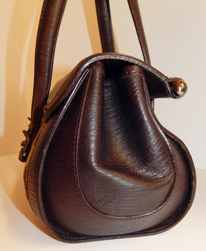 3028c4afb283f Gucci Gg Logo Leather Bamboo Bullet Satchel Italy By Tom Ford Khaki Brown  Canvas Shoulder Bag - Tradesy