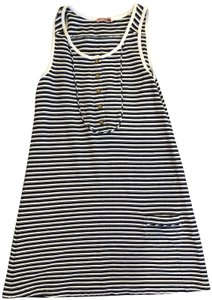 Juicy Couture short dress Navy/White Vintage on Tradesy