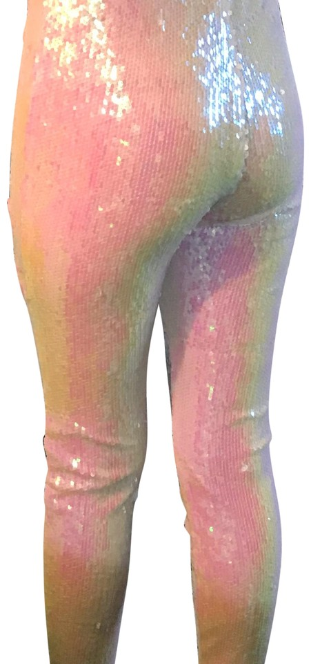 09af60ebb1 Forever 21 Iridescent Sequin Pants Size 0 (XS, 25) - Tradesy