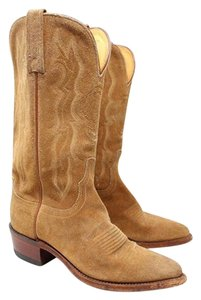 Lucchese 1883 By Cowboy Suede Tan Boots