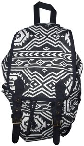 Charlotte Russe Pattern Canvas Fabric Boho Backpack