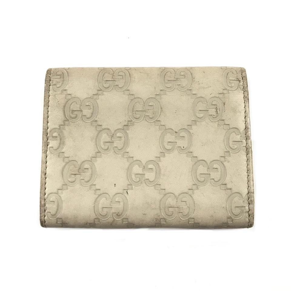 26768f08d327 Gucci Monogram Card Holder Wallet - Tradesy