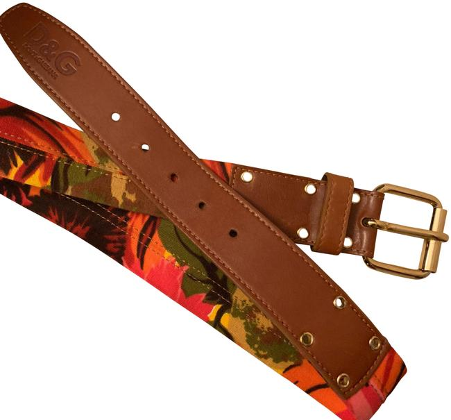 Item - Red Dolce and Gabbana Belt