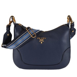 da5813abbe63 Blue Prada Cross Body Bags - Up to 90% off at Tradesy