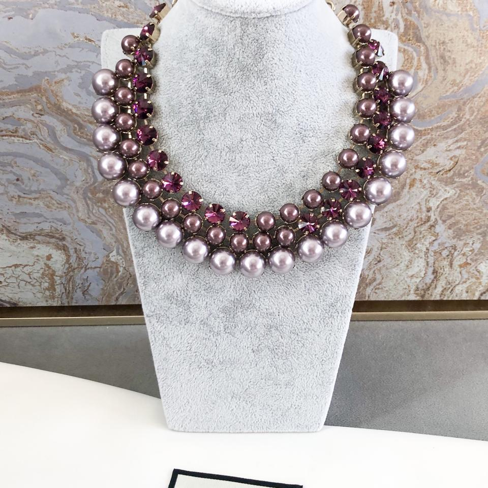 b95b65467 Gucci Gucci Collier Multicolor Swarovski Crystals Necklace Image 11.  123456789101112