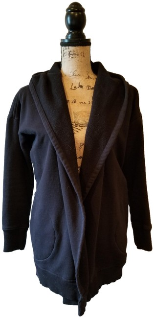 Item - Black Cardigan Activewear Outerwear Size 6 (S)