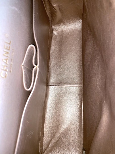 Chanel Lambskin Jumbo Double Flap Cross Body Bag Image 10