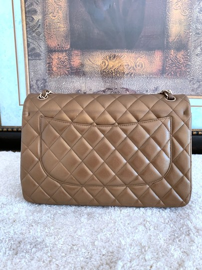 Chanel Lambskin Jumbo Double Flap Cross Body Bag Image 3