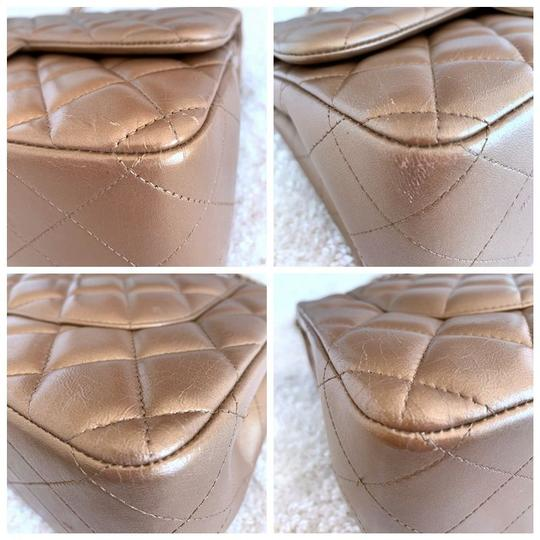 Chanel Lambskin Jumbo Double Flap Cross Body Bag Image 8